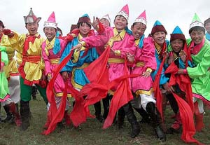 Naadam Pageant in Chifeng