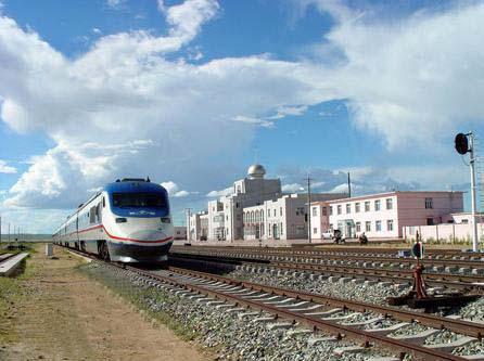 Xilinhot railway system