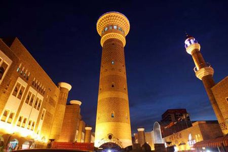 Internatinal Grand Bazaar in Urumqi