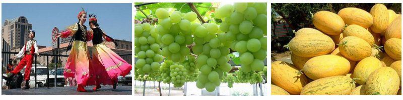 Xinjiang Dance, Grapes&Melons