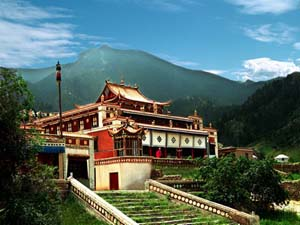 Helan Mountain North Temple (Fuyin Temple) Tourism District