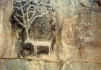 Rock Paintings on Mt. Zhuozi