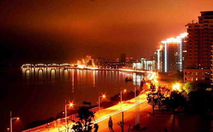 Nightview of Dandong