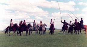 the matching field in Dorbod Mongol