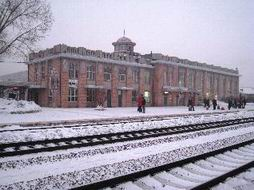 The Railway Station at Yabuli