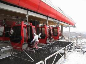 The cable car in Yabuli