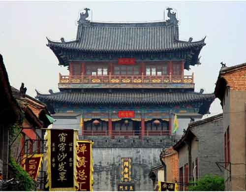 City of Sui and Tang Dynasty