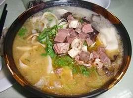 Mutton noodle