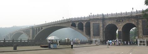 Longmen entrance