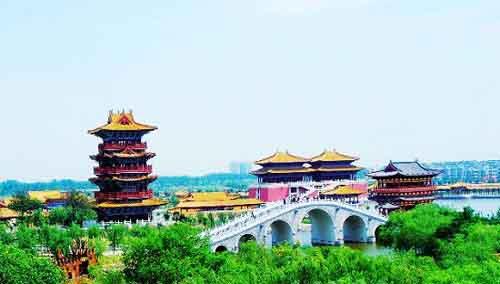.Dragon Pavilion Park Overview