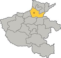 Xinxiang Location