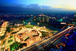 Zhumadian City Nightview