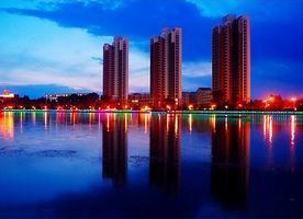 Night View of Heilongjiang