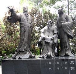Three Su Statue