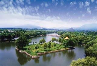 Pingdingshan beautiful view