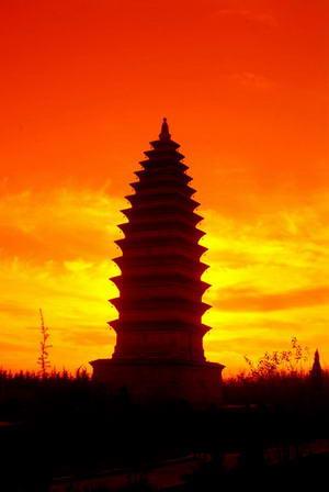 Baolun Temple Pagoda
