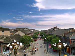 Street of Shangqiu Ancient Town