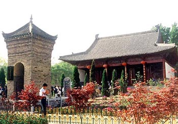 The Temple of Hua Mulan