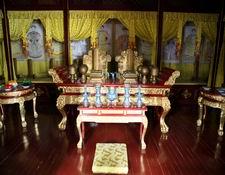 a sacrificial altar