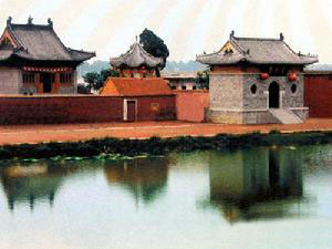 Ancient Zhoukou Building