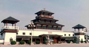 Gate of Qicheng Cultural Relics Park