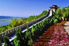 The great wall in Jilin