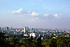 Panorama of Huainan