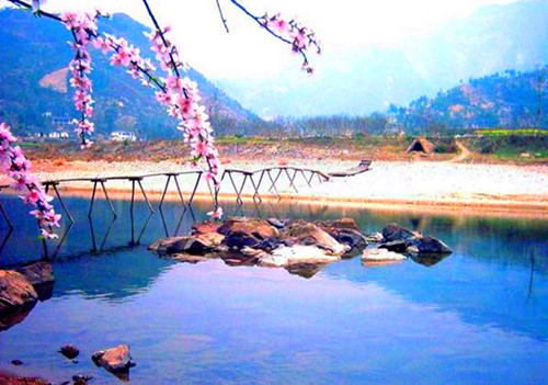 Yuexi County in Spring