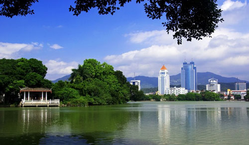 Fuzhou West Lake