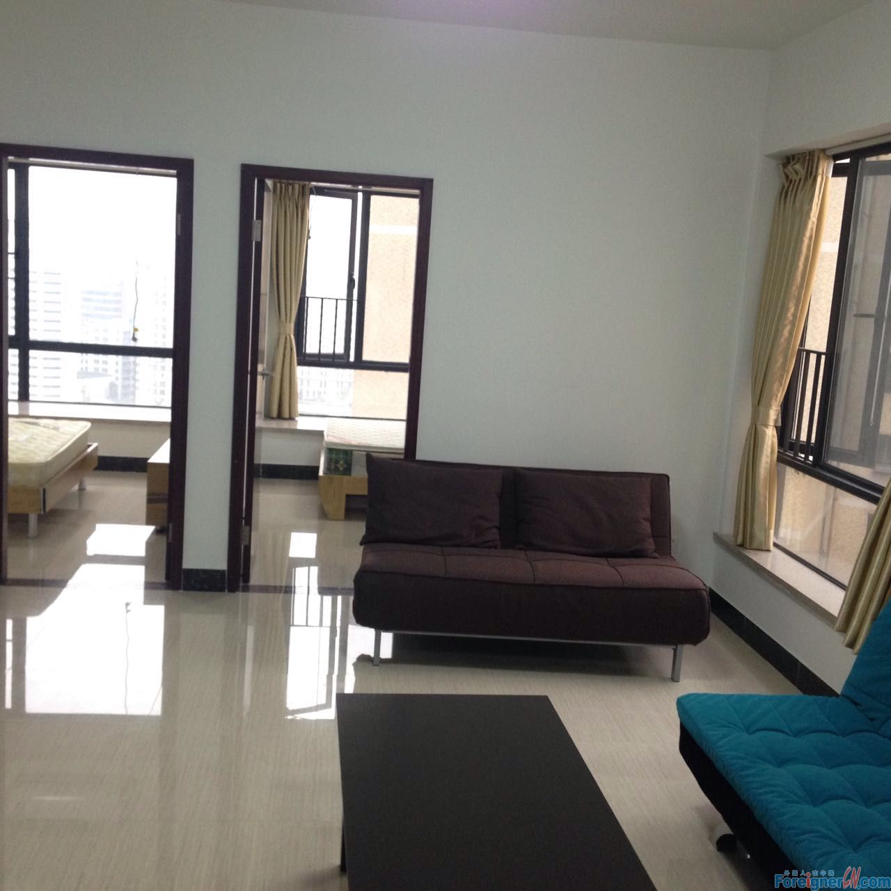 2Br brand new building  New furnished  5Mins to the GZ East railway station