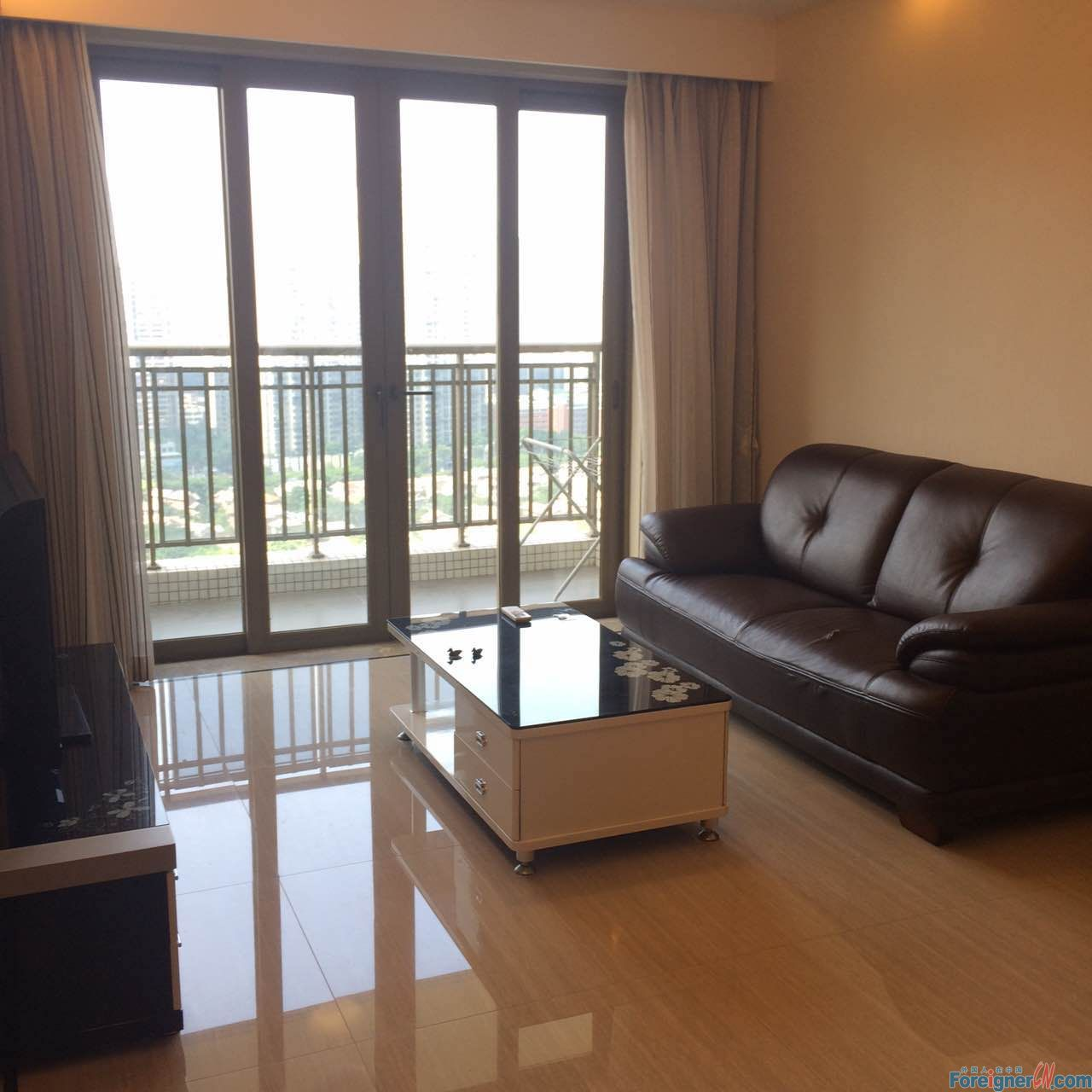 2Br apt new and high quality furniture above Liede station exit A