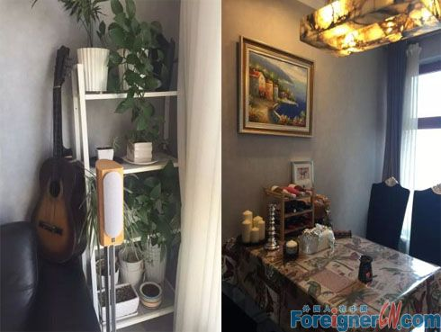 Furnished river view apartment in Shenyang Dongling