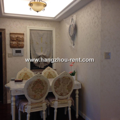 Jin Se Lan Ting Modern and Comfortable Apartment in Hangzhou for Rent