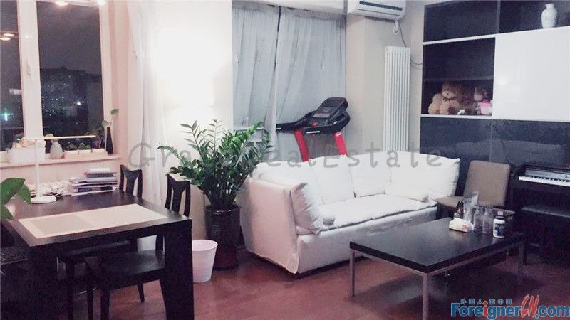 Crystal Apartment(晶都国际) ,2br.only rent for 9500rmb per month.lido jiuxianqiao area