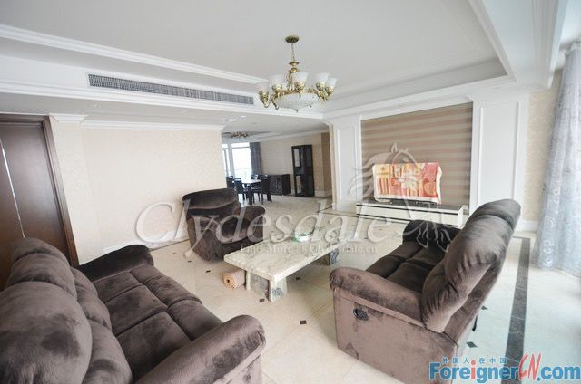 Hangzhou Apartment Oriental Royal OR0006 with 5 brs for Rent