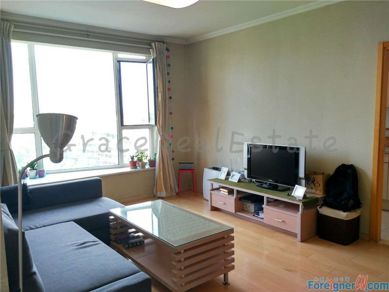 Richmond Park(丽都水岸),1br,67sqm,10500rmb per month,lido,jiuxianqiao