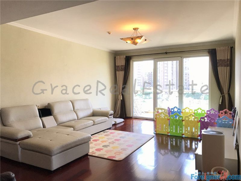 3br,Richmond Park,150sqm,only 17500rmb per month,lido jiuxianqiao