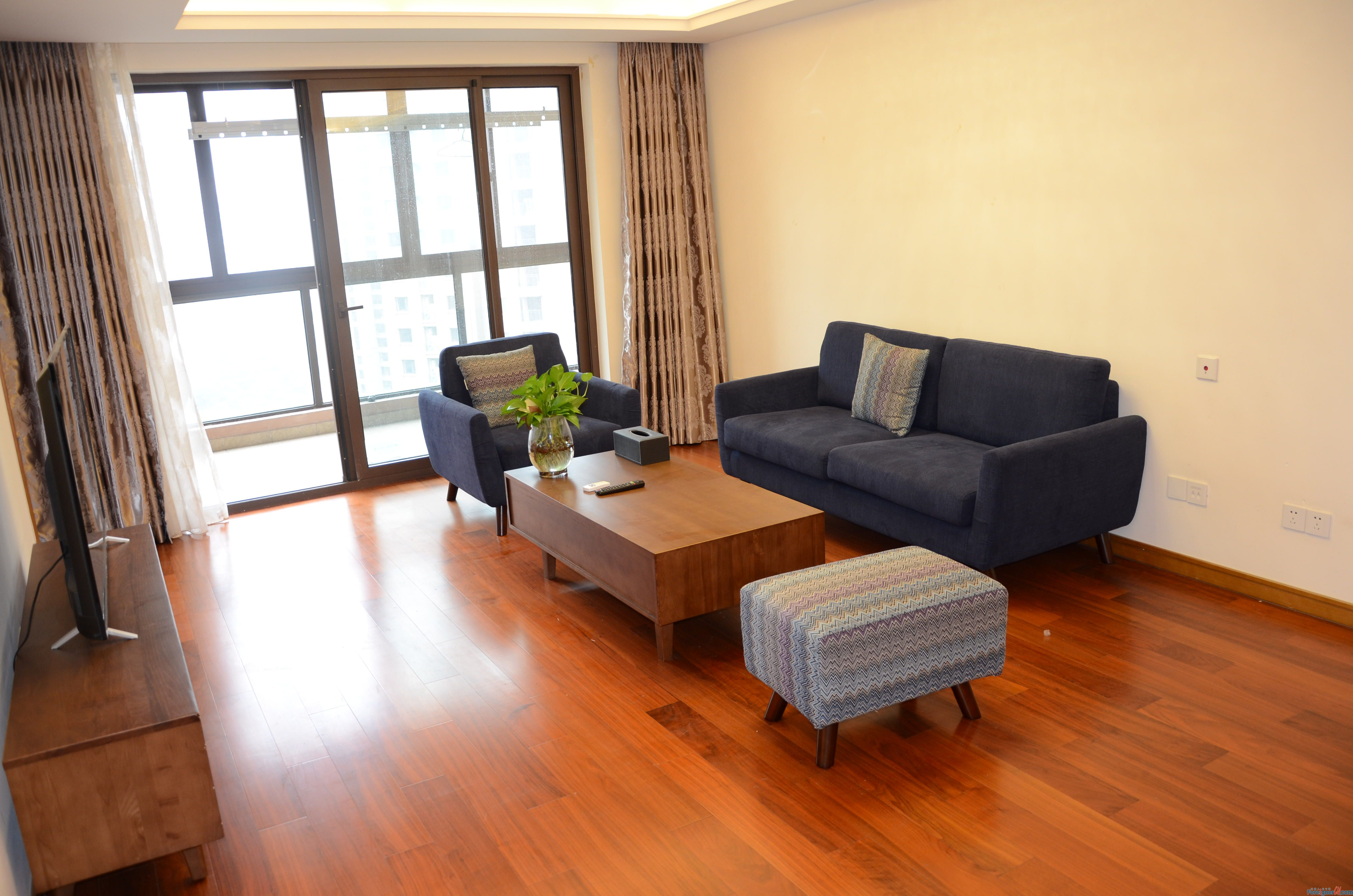 8500RMB/Brand new 3br/1ba/Bayside garden/gym/pool/modern style/times square/moon harbor