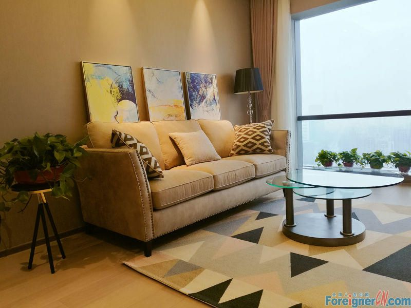 Times square,brand  new 104sqm, 1br, floor heating ,high floor, good view