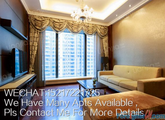 Brand new 1br apt for rent in W HOTEL,only 8500RMB per month,high floor with good view