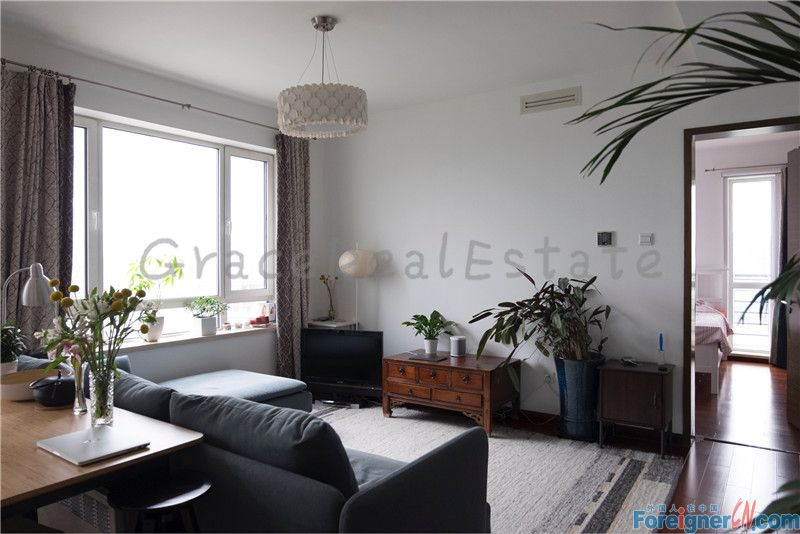 newly renovated apartment for rent ,real pictures,1br,upper east side,lido,chaoyang
