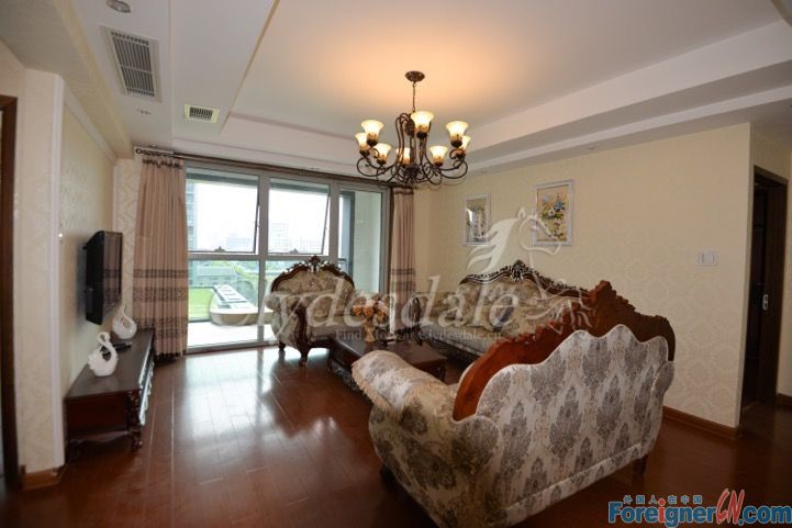 Hangzhou Apartment Silver Horse Apartment SHA0005 3 brs for rent