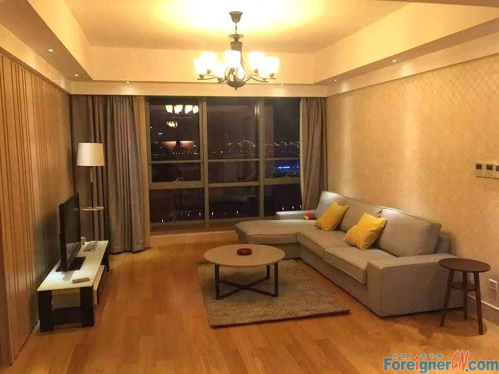 Nice!Harmony City-Times Square-2 bedrooms-heating-lake view-convenient traffic