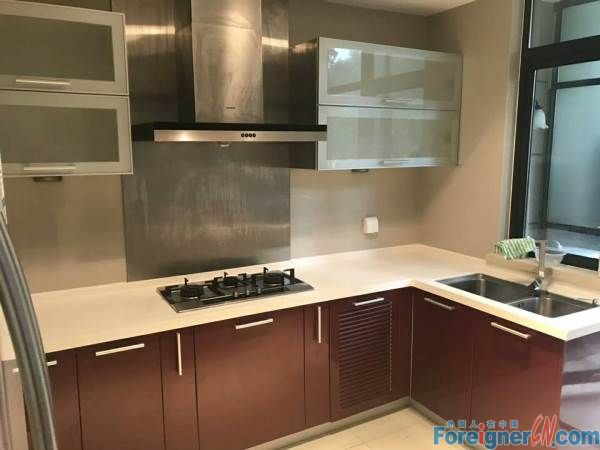 Bai Tang Garden,first floor with garden,first time for rent,4br,fine decoration