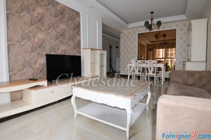 Hangzhou Apartment Ihome IH0048 2 brs for Rent