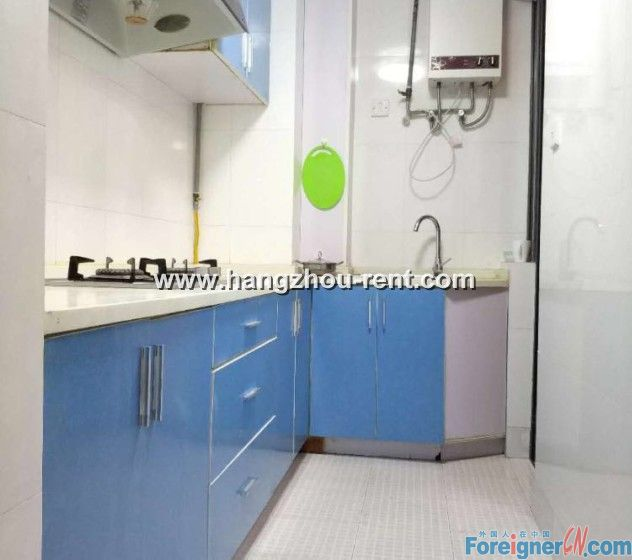 2 bedrooms in Xihu District nearby metro station for rent