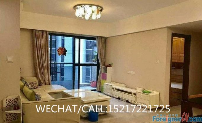 WECHAT ME FOR MORE APTS:15217221725   zhujiang new town New 2brs Fully furnished flat with modern brandnew furniture, high floor