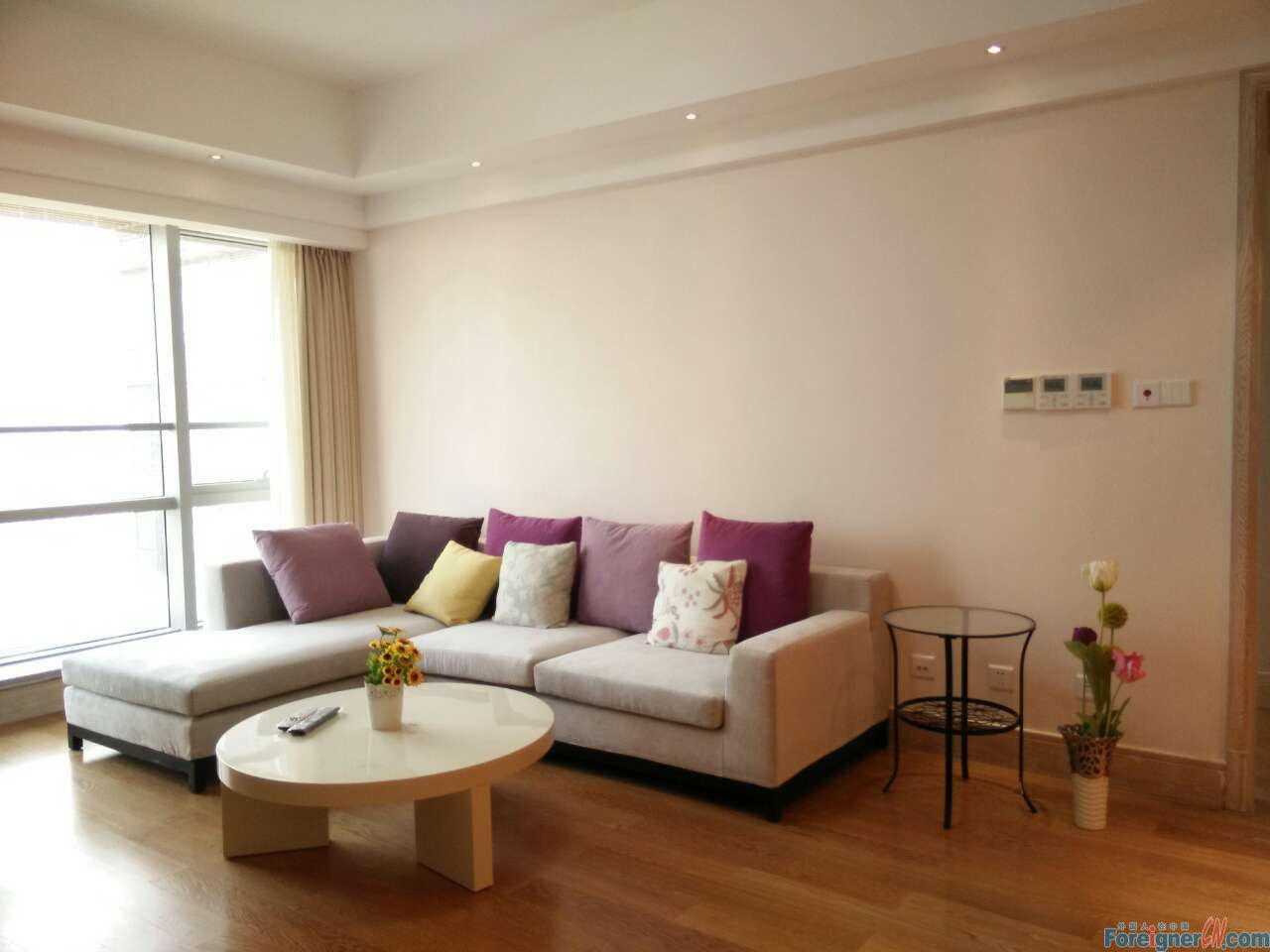 Pretty!Harmony City-Times Square-2 bedrooms-heating-lake view-convenient traffic