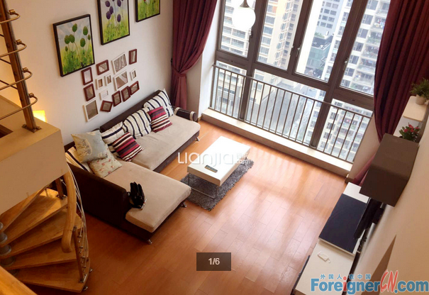 WECHAT ME FOR MORE APTS:15217221725    Lovely 1br duplex available in Moon Island,modern and cheap price