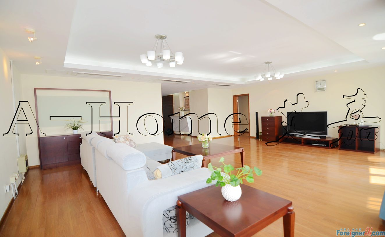 serviced apt , 222sqm, floor heating, dish washer, dryer, water purifier, cleaning service